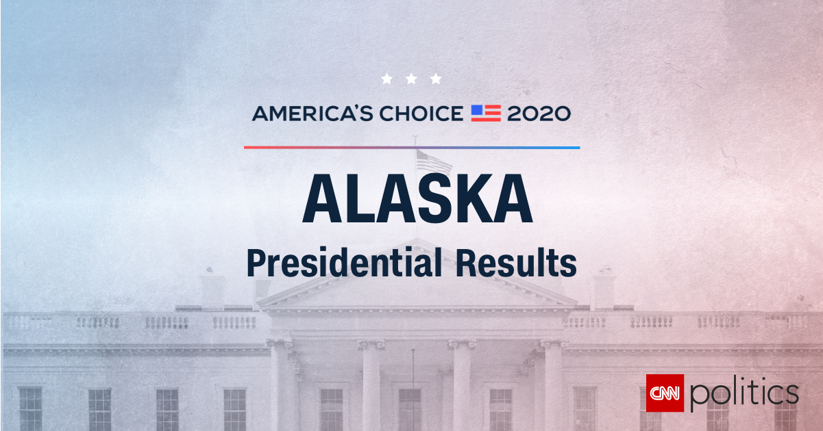 Image of: Alaska Presidential Election Results And Maps 2020