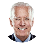 Headshot image for Biden