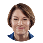 Headshot image for Klobuchar