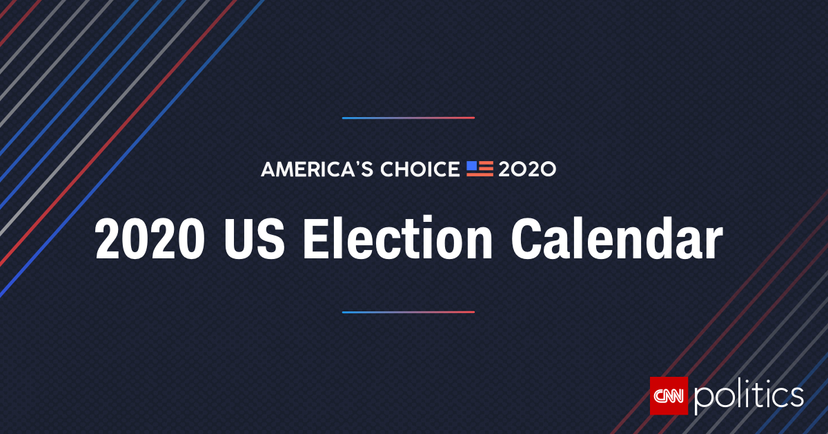 US Election Calendar: Key Dates and Events