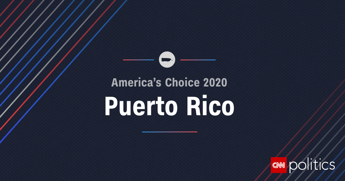View Puerto Rico's 2020 primary election results