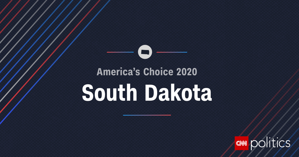 Picture of: South Dakota Primary 2020 Election Date Delegates Maps And Results